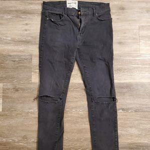 Urban Basics Black Skinny Jeans